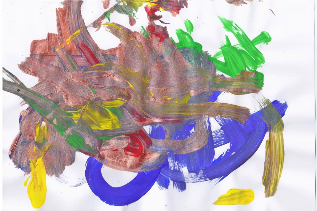 Things That Fly - Childrens Artwork - Emily-Rae Butterfly