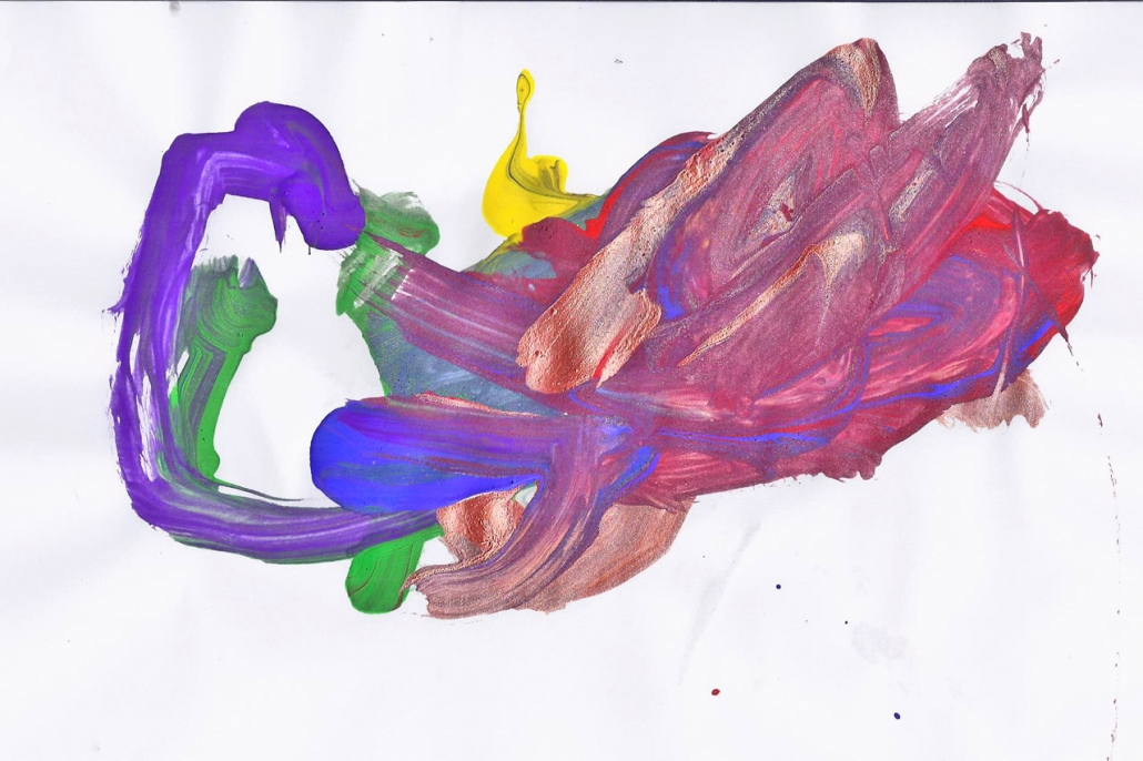Things That Fly - Childrens Artwork - Rudy Dragon