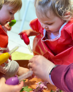 waterplay in aprons